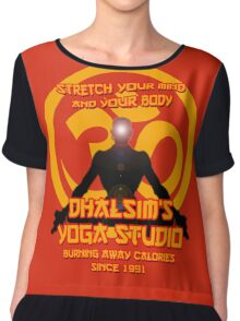 Dhalsims Yoga Studio Chiffon Top