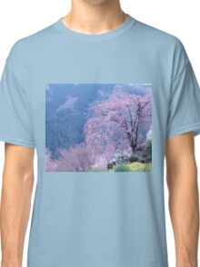 By The Cherry Blossom Tree Classic T-Shirt