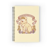 Inspirational Retriever  Spiral Notebook