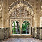 Daraxa's Mirador, Nasrid Palaces, The Alhambra, Granada, Spain by TonyCrehan