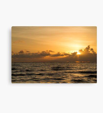 Rollingstone Sunrise 2 Canvas Print