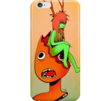 Get Off My Head iPhone Case/Skin