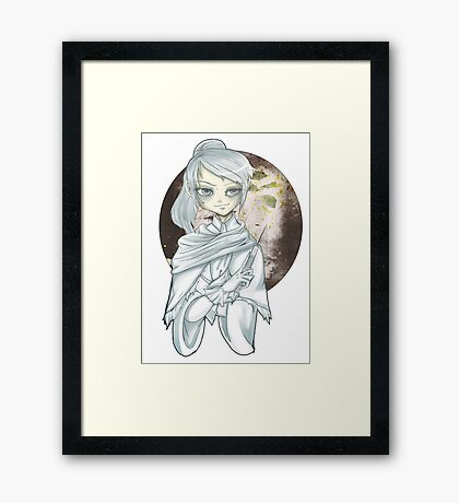 Mad doctor Framed Print