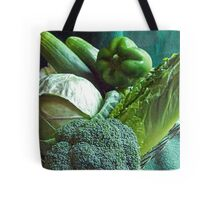 Green Grocery Bag Tote Bag
