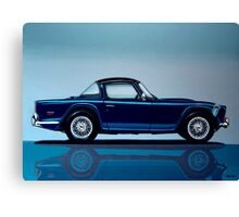 Triumph TR5 Painting Canvas Print