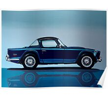 Triumph TR5 Painting Poster