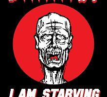 Brains I'm Starving by DesignsbyKen
