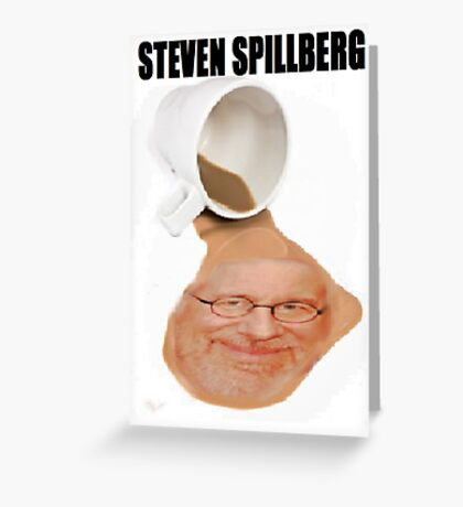 Steven Spillberg Greeting Card