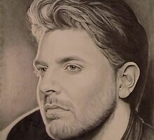 Chris Young in Pencil by Karen E. Marvel