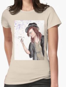 A Song is a Story in Bloom Womens Fitted T-Shirt