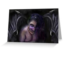 My Succubus Greeting Card