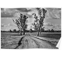 Going Home - Gunnedah NSW Australia Poster