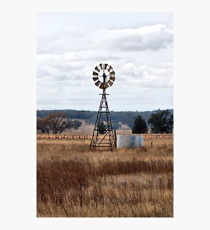 Windmill - Premer NSW Australia Photographic Print