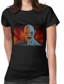 Azog The Orc Painting Womens Fitted T-Shirt