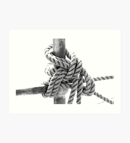 Knotted Rope II Art Print