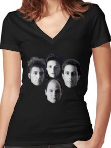 Seinfeld Crew Women's Fitted V-Neck T-Shirt
