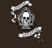 Veritas/Aequitas White Unisex T-Shirt