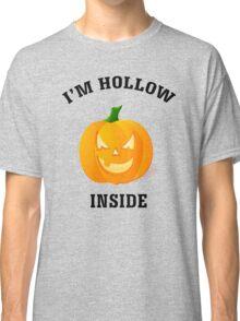 I'm Hollow Inside Halloween Jack O' Lantern Classic T-Shirt