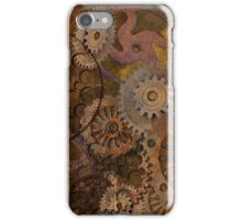 Changing Gear - Steampunk Gears & Cogs iPhone Case/Skin