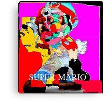 (100-k)- 100 Karma clothing Mario Canvas Print
