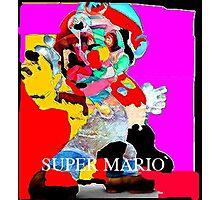 (100-k)- 100 Karma clothing Mario Photographic Print