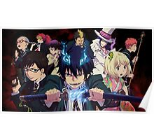 ay no exorcist full team on! Poster