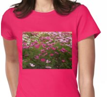 Dancing Cosmos - Preston Temple Grounds Womens Fitted T-Shirt