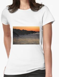 Summer Sunset Serenity Photograph  Womens Fitted T-Shirt