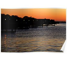 Summer Sunset Serenity Photograph  Poster
