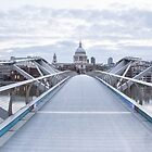 Bridge to St Paul's by Paul Campbell  Photography