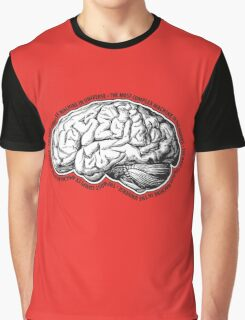 Brain. The Most Complex Machine in the Universe. Graphic T-Shirt