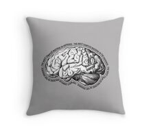 Brain. The Most Complex Machine in the Universe. Throw Pillow
