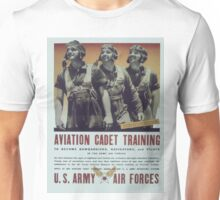Vintage poster - Aviation Cadet Training Unisex T-Shirt