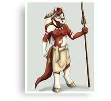 Horse Warrior Canvas Print