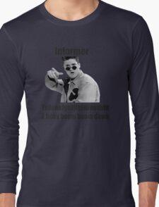 Informer 90s Rap Retro Vintage Shirt Long Sleeve T-Shirt