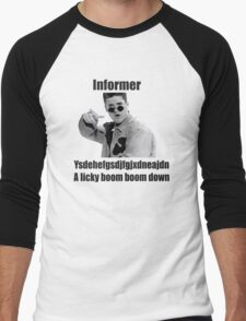 Informer 90s Rap Retro Vintage Shirt Men's Baseball ¾ T-Shirt