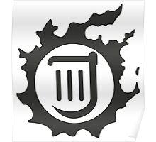 Final Fantasy 14 logo BRD Poster
