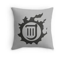 Final Fantasy 14 logo BRD Throw Pillow