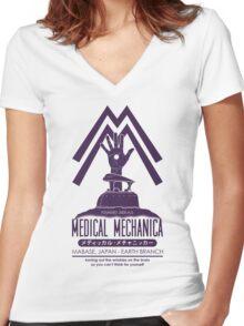 Medical Mechanica Women's Fitted V-Neck T-Shirt