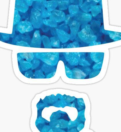 Heisenberg Blue Sticker
