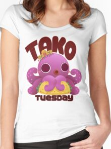 Tako Tuesday Women's Fitted Scoop T-Shirt