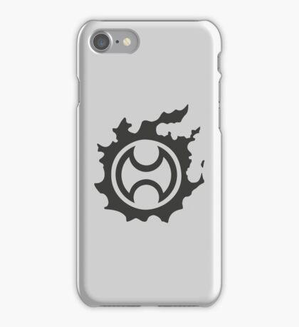 Final Fantasy 14 logo WAR iPhone Case/Skin