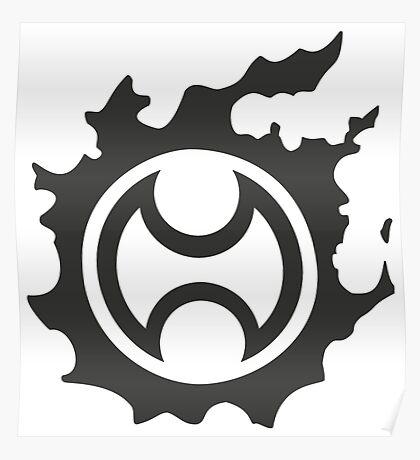 Final Fantasy 14 logo WAR Poster