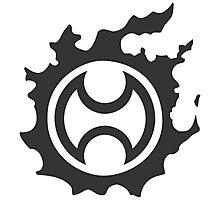Final Fantasy 14 logo WAR Photographic Print