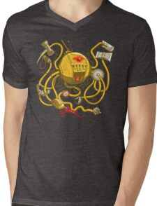 Wrecker The Robot Mens V-Neck T-Shirt