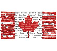 Canada's Native Tongues Photographic Print