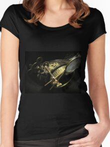 Steampunk Gentlemen's Hat 2.2 Women's Fitted Scoop T-Shirt