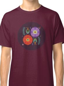 Flowerfully Folk Classic T-Shirt