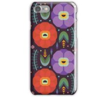 Flowerfully Folk iPhone Case/Skin