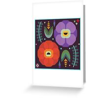 Flowerfully Folk Greeting Card